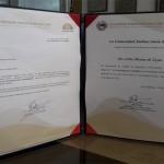 Reconocimiento otorgado por la Universidad Andina Simón Bolivar II