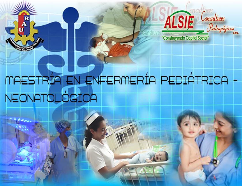 Maestría en enfermería pediatrica