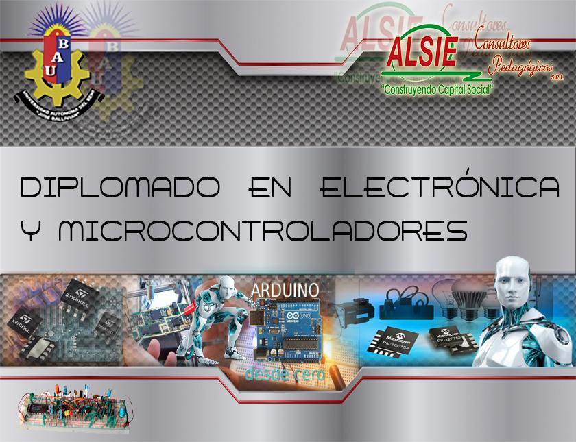 Diplomado en Electrónica y Microcontroladores