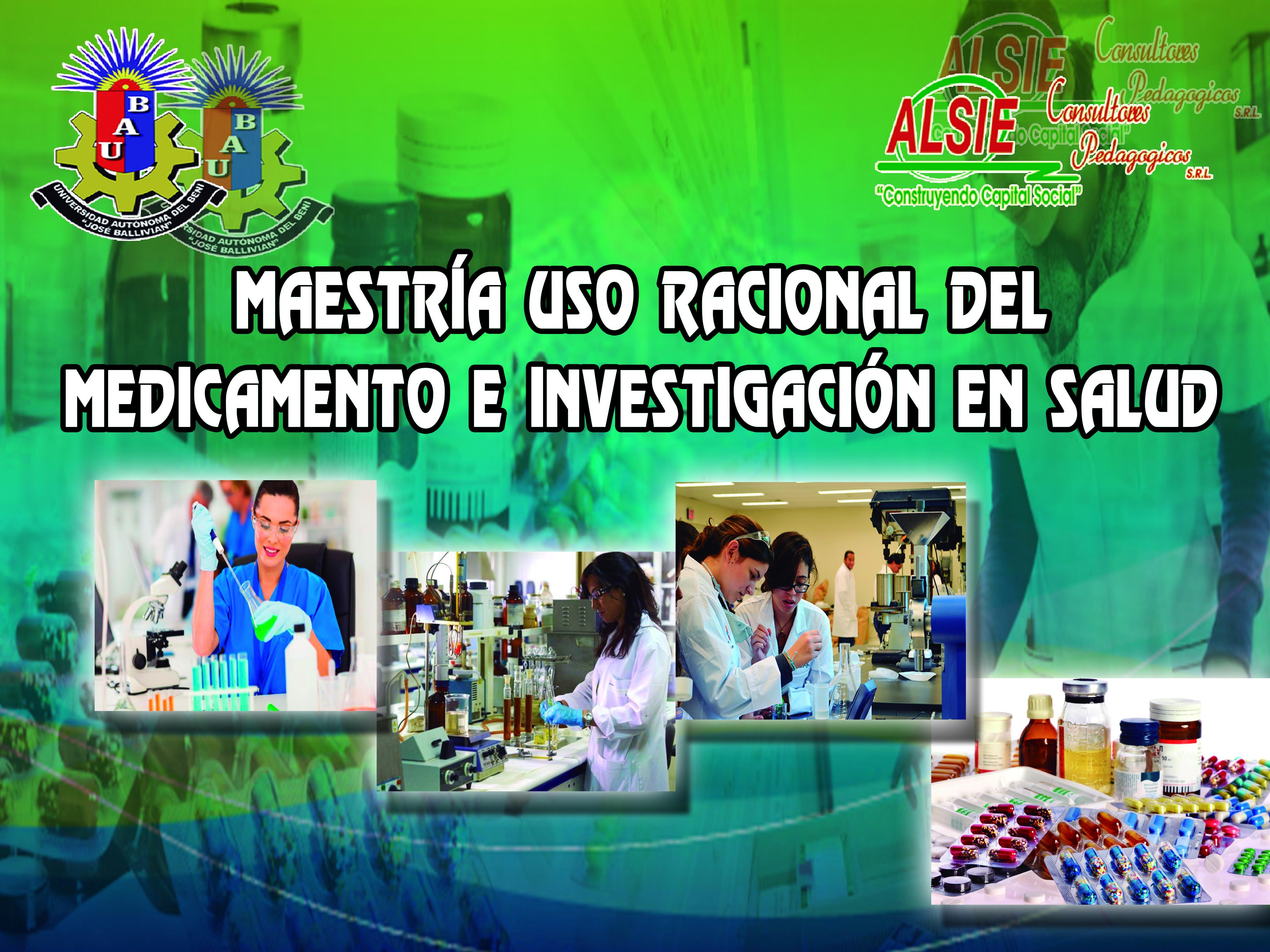 Maestría Uso Racional del Medicamento e Investigación en Salud