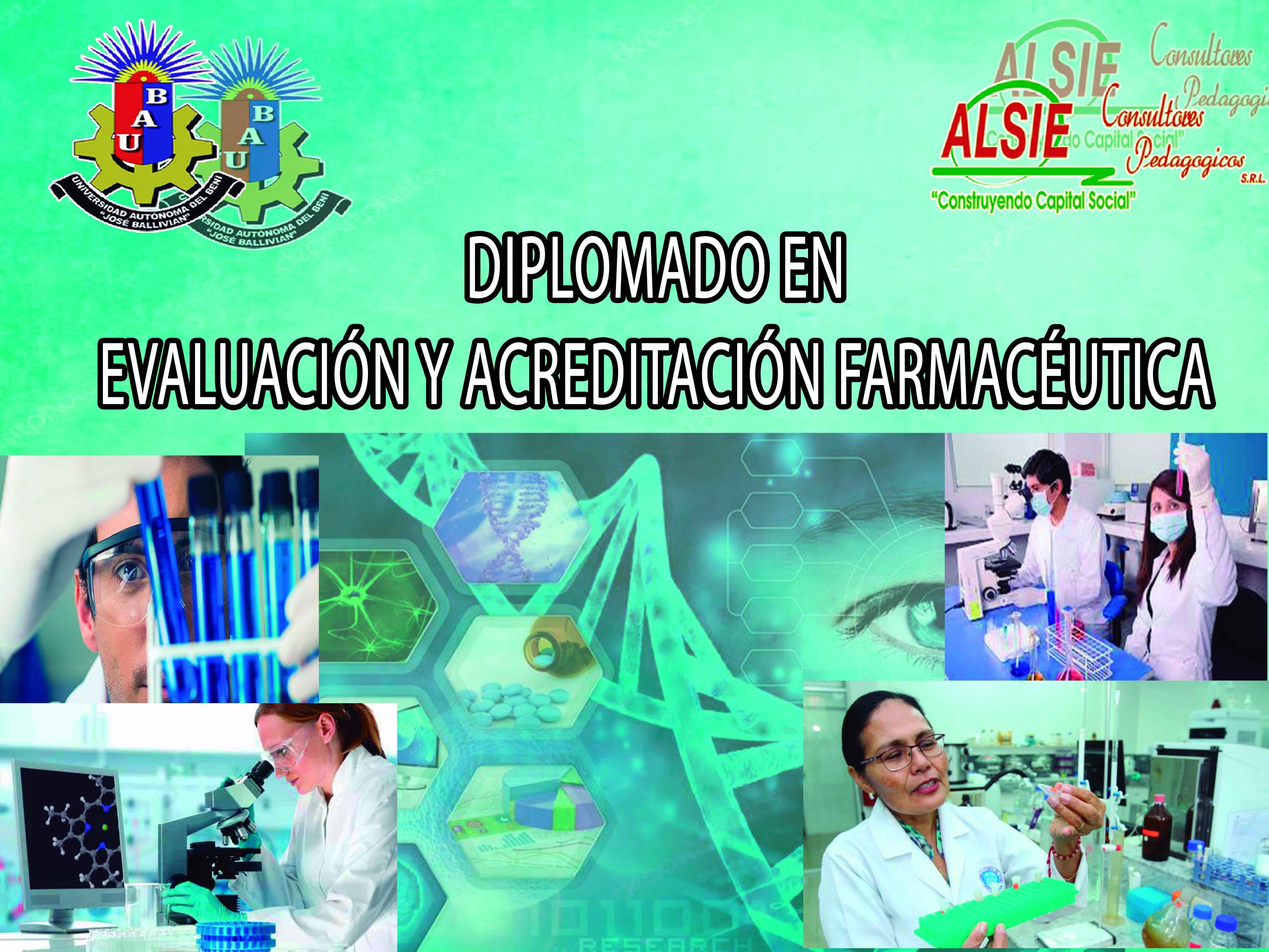 Diplomado en Evaluación y Acreditación Farmacéutica